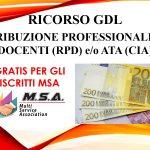 RICORSO AL GDL RETRIBUZIONE PROFESSIONALE DEI DOCENTI (RPD) e/o ATA (CIA)